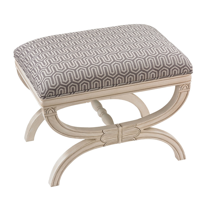 139-009 Stage Bench Grey, White