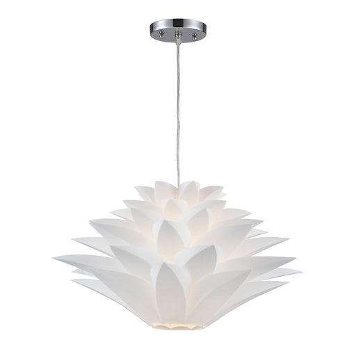 143-001 1Light Mini Pendant Lamp White