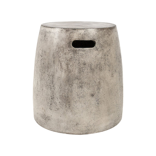 157-018 Hive Stool In Polished Concrete Wax