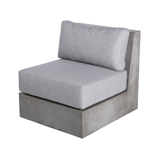 157-049CUSHIONS/S2 Lannister Outdoor Cushions - Set of 2 Grey