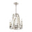 ELK Lighting 16351/4 Bergamo 4 Light Chandelier In Polished Nickel Polished Nickel Free Parcel Delivery