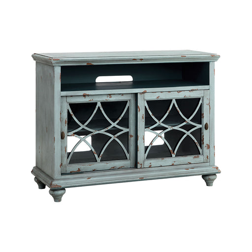 16603 Bethania 44 Inch Entertainment Console Blue, Grey