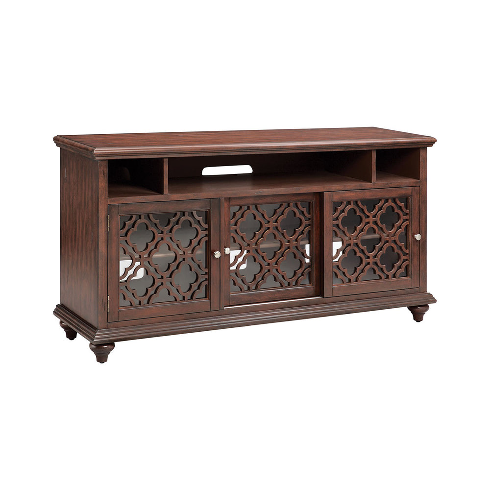 16657 Beauvais 64 Inch Entertainment Console Brown