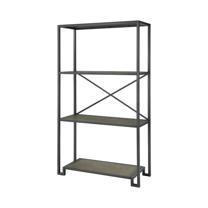 16865 Mezzanine Shelving Unit Brown
