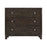 17018 Shubel Grey Brown Acacia Veneer Chest Grey Brown Acacia Veneer