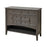 17060 Hartford Cabinet Brown Grey Hand Painted Wood