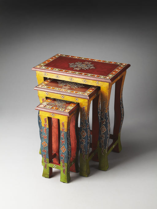 Sasha Hand Painted Nesting Tables