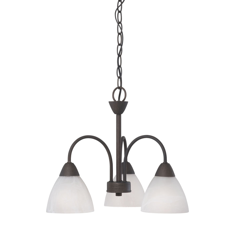 Thomas Lighting 190005763 Tia 3 Light Chandelier In Painted Bronze Painted Bronze