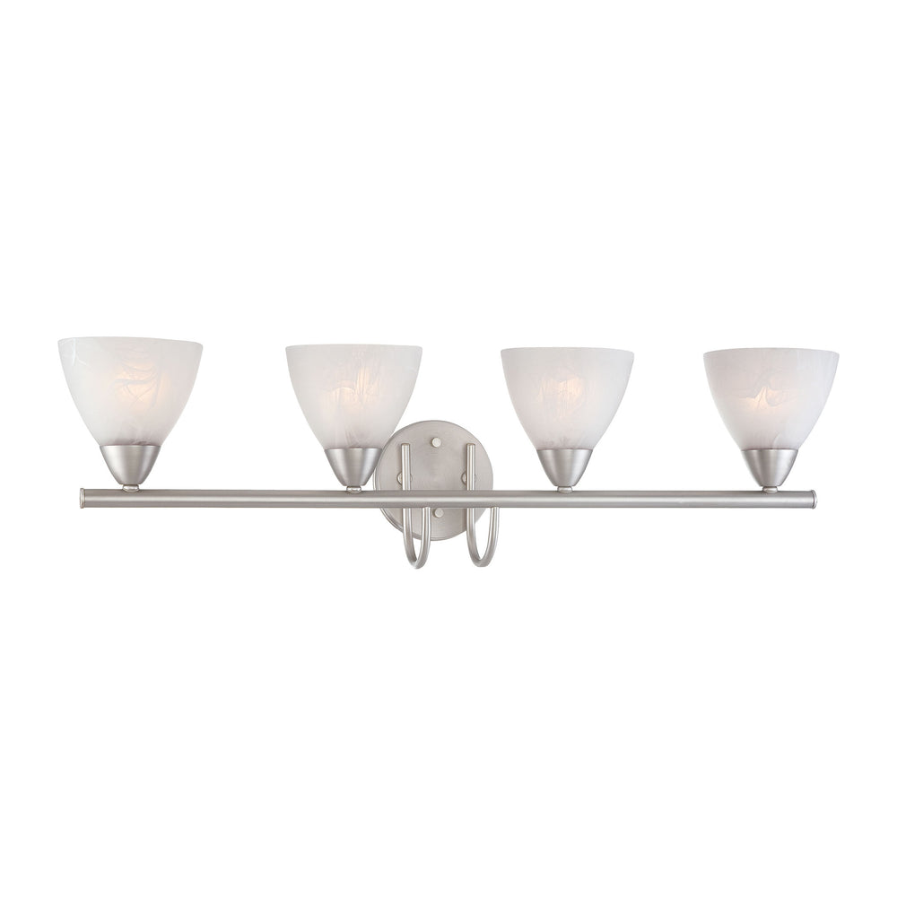 Thomas Lighting 190018117 Tia 4 Light Wall Lamp In Matte Nickel Matte Nickel