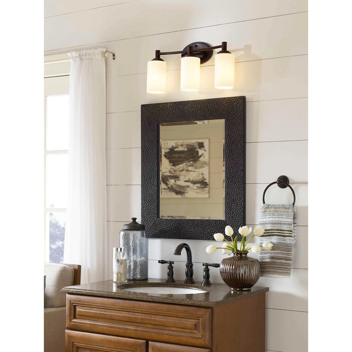 Thomas Lighting 190024719 Pittman 3 Light Wall Lamp In Sienna Bronze Sienna Bronze