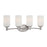 Thomas Lighting 190025217 Pittman 4 Light Wall Lamp In Brushed Nickel Brushed Nickel