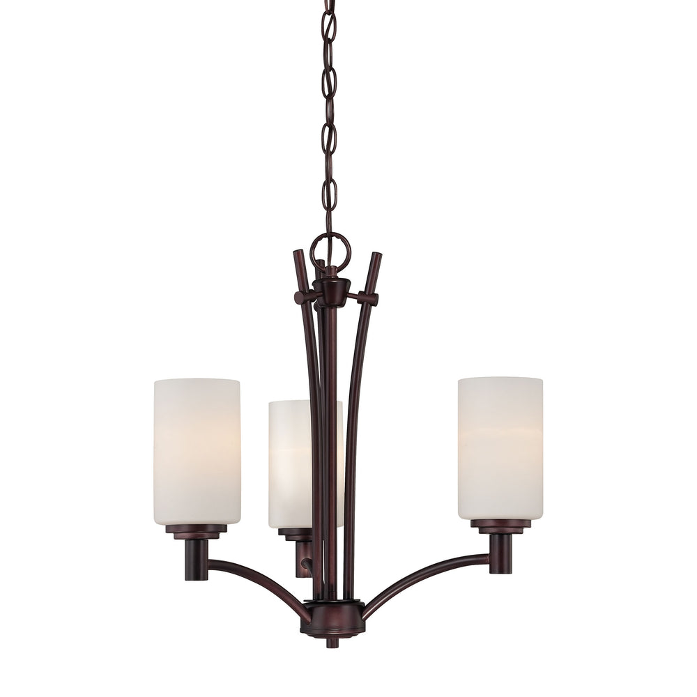 Thomas Lighting 190040719 Pittman 3 Light Chandelier In Sienna Bronze Sienna Bronze