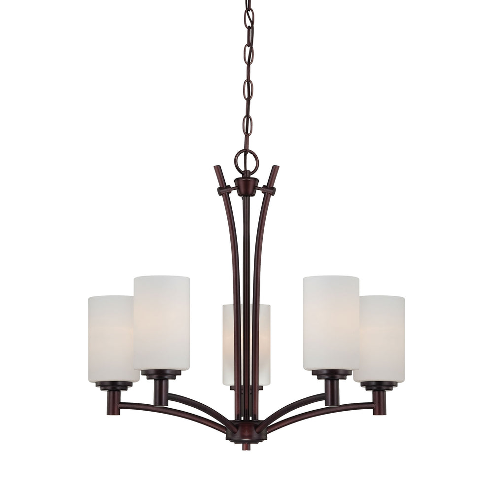 Thomas Lighting 190041719 Pittman 5 Light Chandelier In Sienna Bronze Sienna Bronze