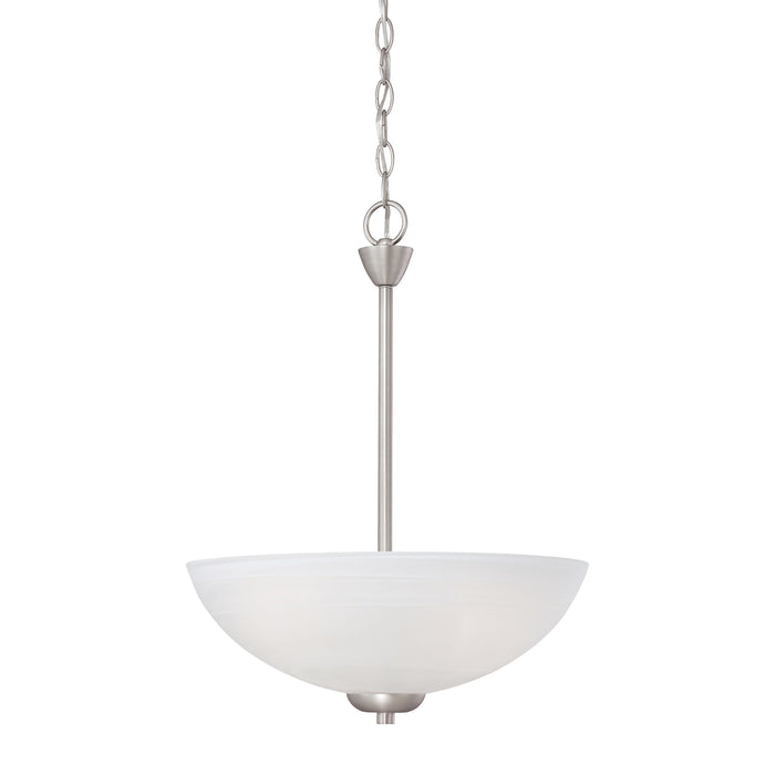 Thomas Lighting 190058117 Tia 3 Light Pendant In Matte Nickel Matte Nickel