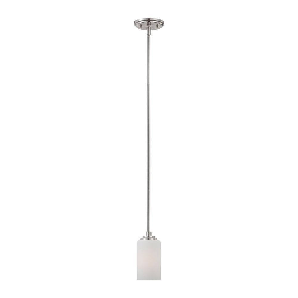 Thomas Lighting 190060217 Pittman 1 Light Pendant In Brushed Nickel Brushed Nickel