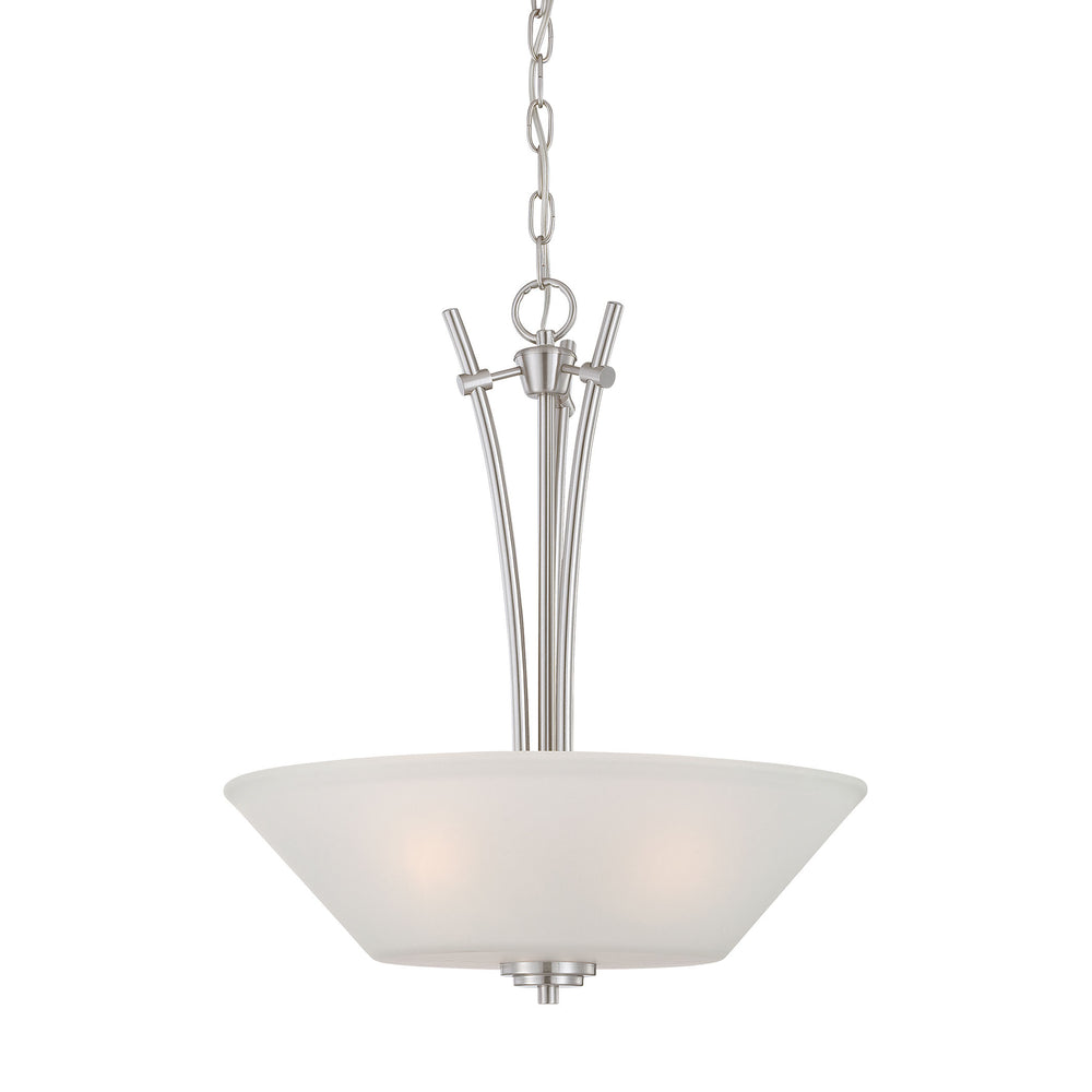 Thomas Lighting 190061217 Pittman 3 Light Pendant In Brushed Nickel Brushed Nickel