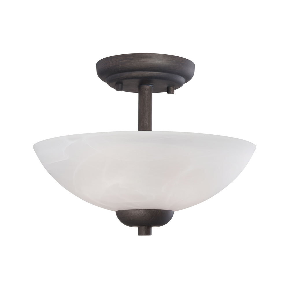 Thomas Lighting 190067763 Tia 2 Light Pendant In Painted Bronze Painted Bronze