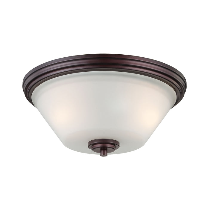 Thomas Lighting 190071719 Pittman 2 Light Ceiling Lamp In Sienna Bronze Sienna Bronze