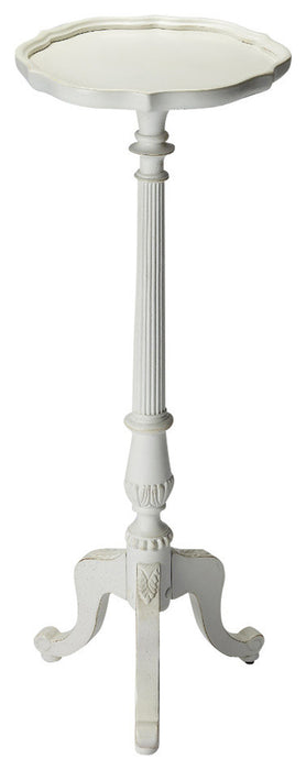 Chatsworth Cottage White Pedestal Plant Stand