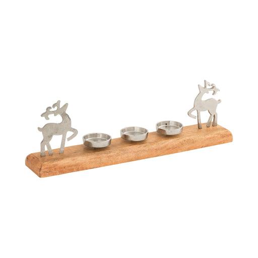 201332 Frosthill Centerpiece Sawyer White, Silver