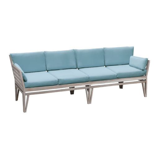 2318004S-SO Newport 4 Seat Sofa Cushions Sea Green