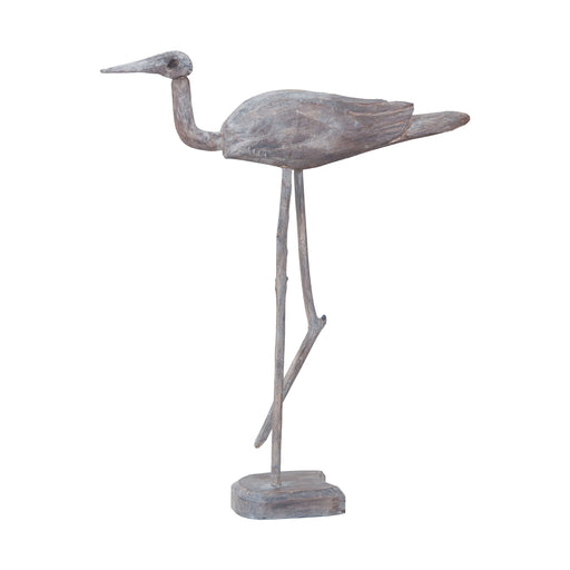 2516528 Wooden Bird On Standing Hand-Painted