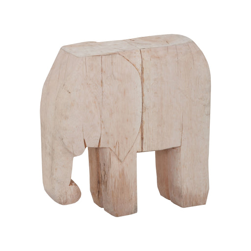 2516531 Wooden Elephant Hand-Painted