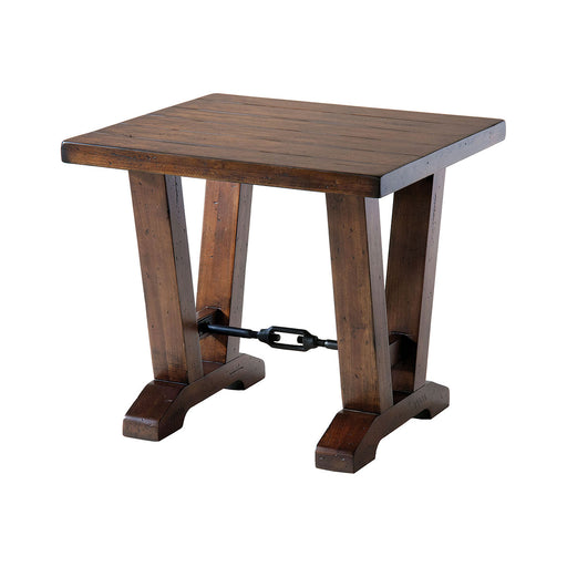 261-021 End Table Brown