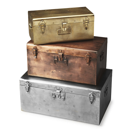 Spirit Iron Storage Trunk Set