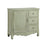 28292 Chesapeake Petite Cabinet Green, Hand-Painted