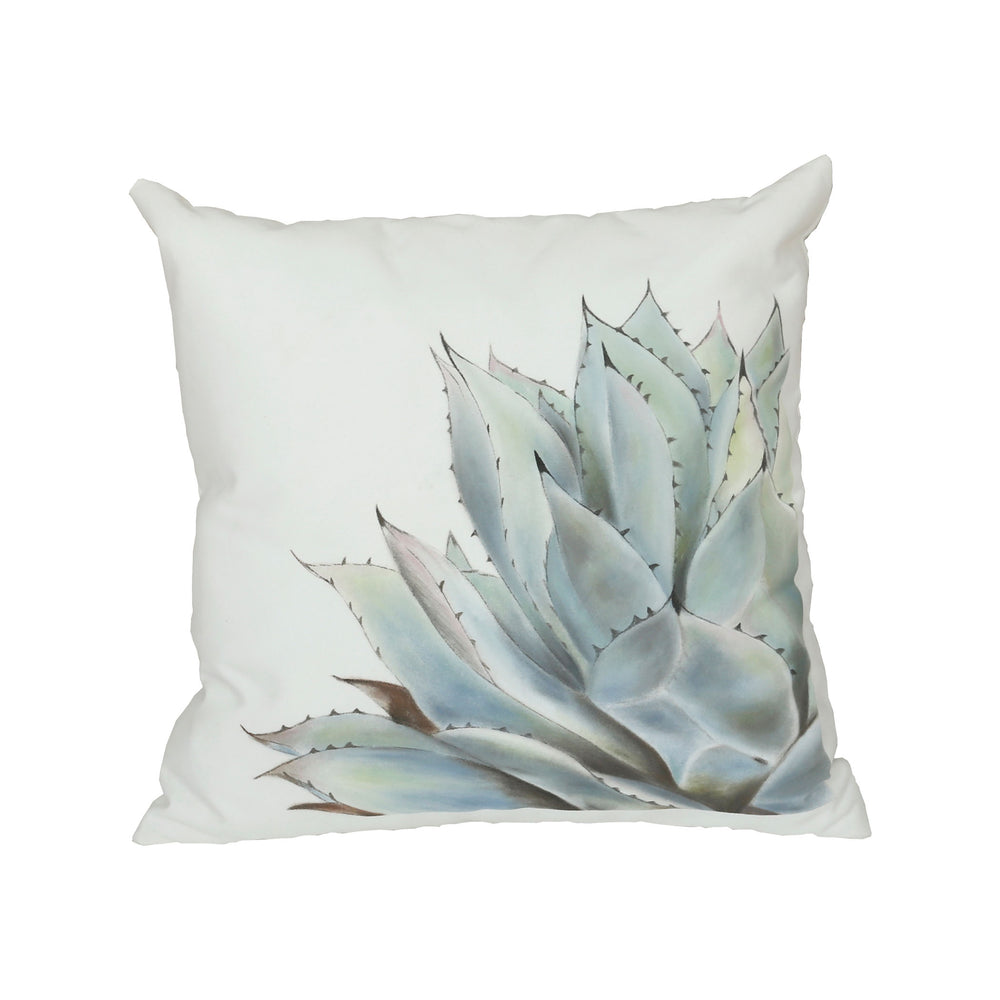 2918002 Hen And Chicks Pillow Hand-Painted Art