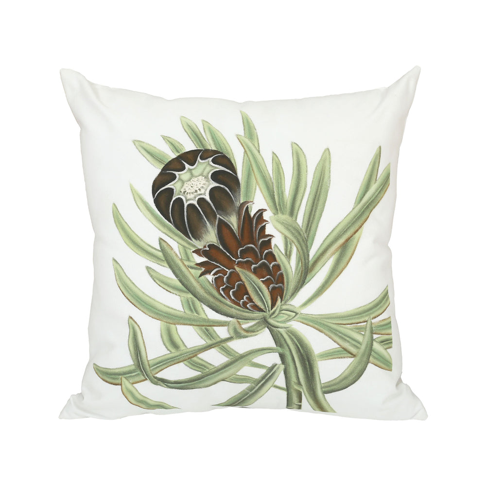 2918006 Botanical III Pillow Hand-Painted Art