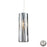 ELK Lighting 31078/1-LA Chromia 1 Light Pendant In Polished Chrome - Includes Adapter Kit Polished Chrome Free Parcel Delivery