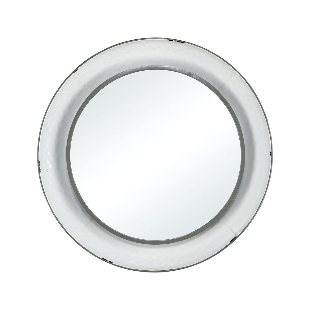 3138-441 Kennebec Wall Mirror White, Black