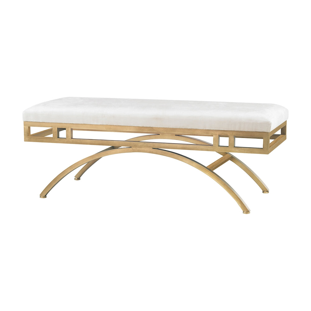 3169-034 Miracle Mile Bench Gold, Oyster