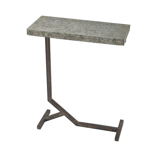 3200-156 Mettle Accent Table Bronze, Galvanized Steel
