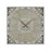 3214-1034 Nouvelle Orleans Wall Clock Antique Grey
