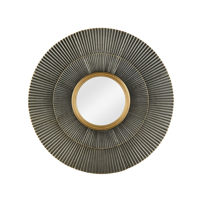 351-10295 Vesuvius Wall Mirror Gold Highlights, Zinc