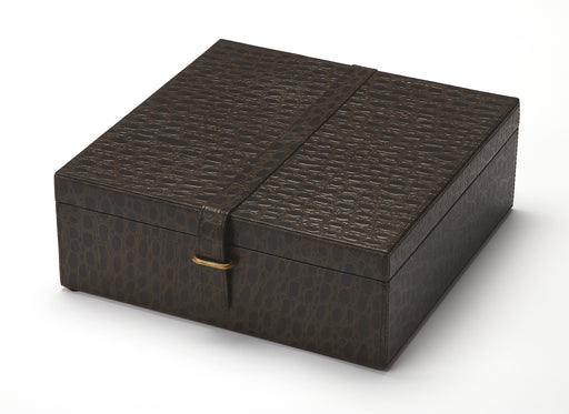 Ambra Leather Storage Box