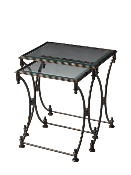 Beverly Metal Nesting Tables