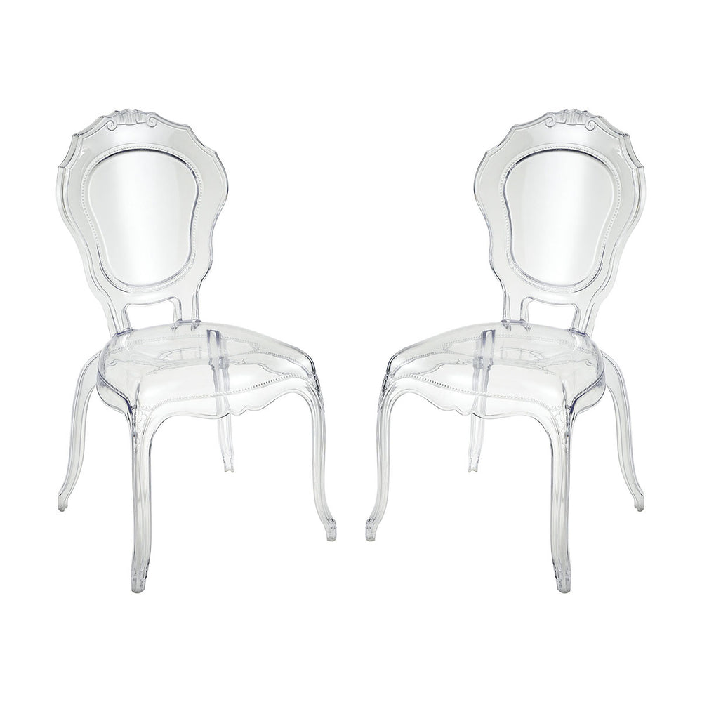 4210-002/S2 Vie En Rose Chair Clear