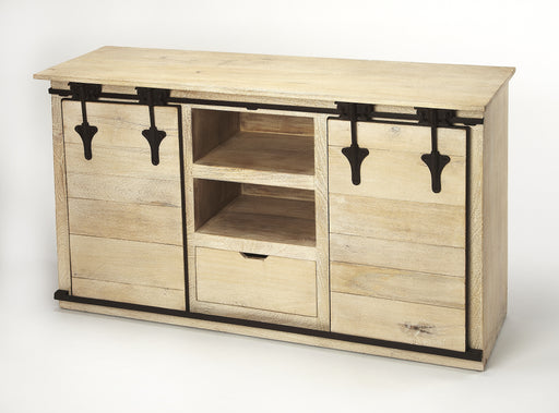 Aneto Rustic Entertainment Console