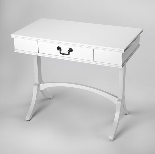 Alta White Writing Desk