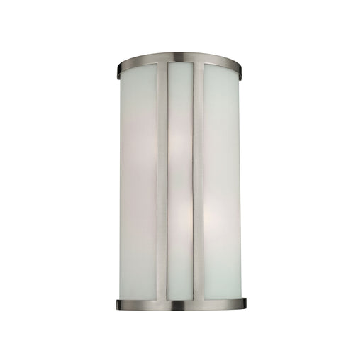 Thomas Lighting 5102WS/20 2 Light Wall Sconce In Brushed Nickel Brushed Nickel
