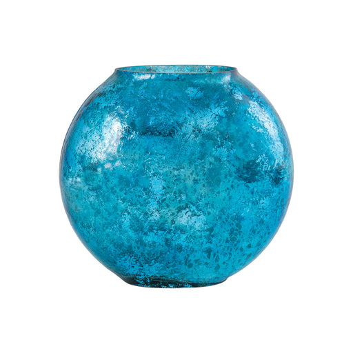 518973 Allure Vase Small Antique Turquoise Artifact