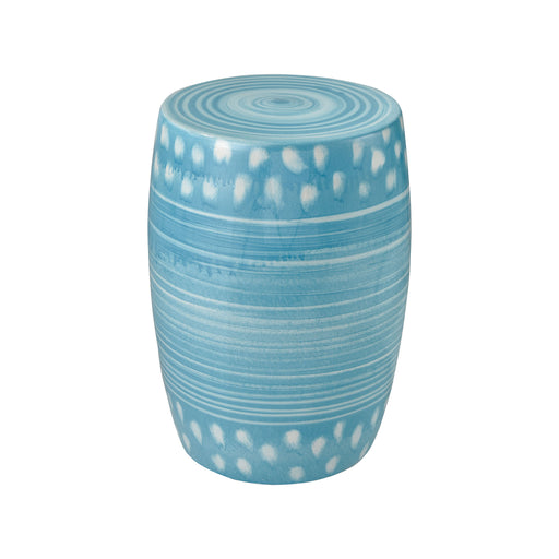 549229 Sabria Stool Weathered Turquoise