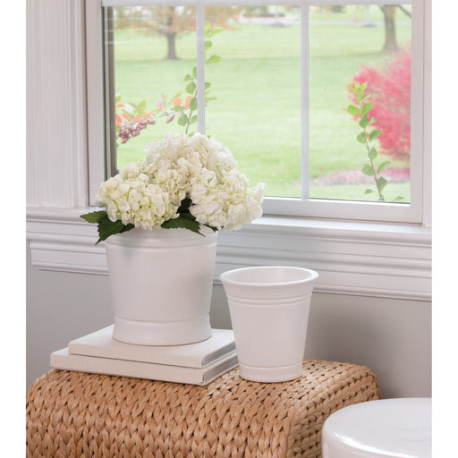 565106 Country Set of 2 Catchpots White