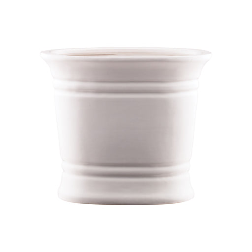 565113 Country Oval Catchpot White