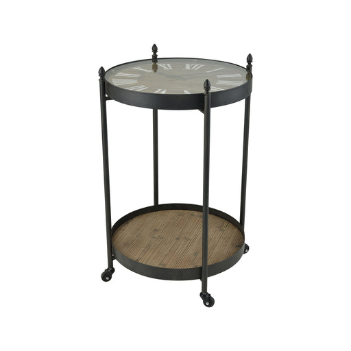 609824 Bramsworth Side Table Roast, Rustic