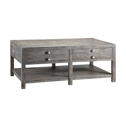 611-011 Bridgeport Rectangular Cocktail Table Grey